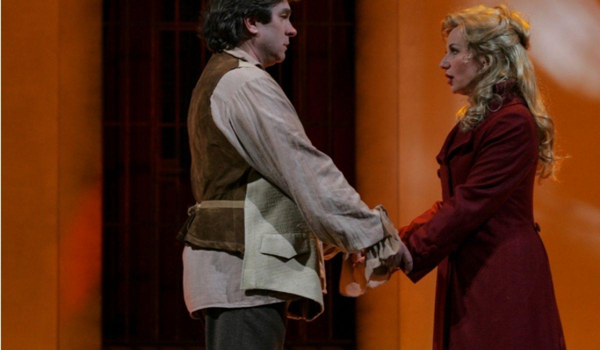 Vlatka Oršanic (Madeleine de Coigny) in Branko Robinšak (Andre Chénier)